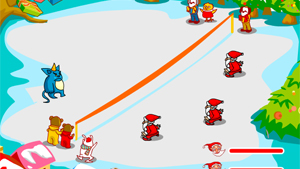 Flash-игра Snow Throw