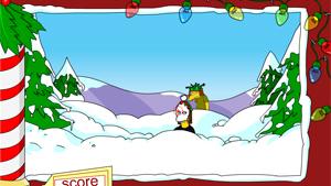Скриншот flash-игры Springfield Snowfight