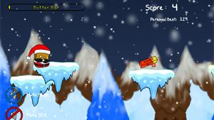 Скриншот flash-игры Toastache Xmas