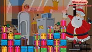 Скриншот flash-игры Santa Toy Factory Clix