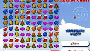 Скриншот flash-игры Christmas Party